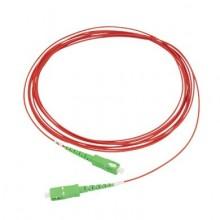 Jarretière simplex monomode 1,6mm G657A2 rouge