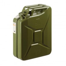 Jerrican métal contenance 20 litres