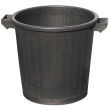 Poubelle chantier couleur noire capacité 80 litres