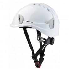 Casque sécurité monteur blanc avec jugulaire KAPRIOL