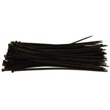 Colliers noir largeur 7,6mm - par 1000 INDEX