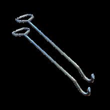 Crochets lève plaque - par 2 MILNOV