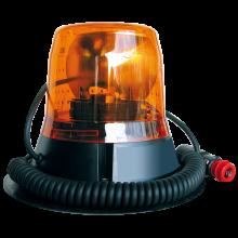 Gyrophare halogène orange magnétique