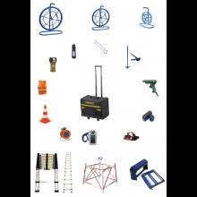 Pack raccordement abonné D3 + Pack perforateur GBH 18V-20 + Soudeuse T-400S