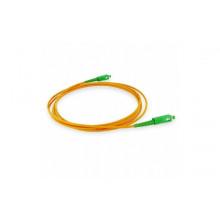Jarretière simplex monomode 1,6mm G657A2 longueur 5 mètres orange