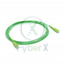 Jarretière simplex monomode 1.6mm G657A2 vert