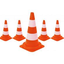 Cônes balises orange 50cm - par 5