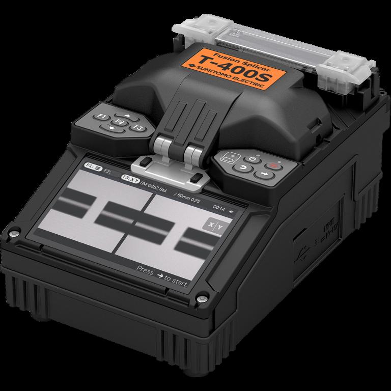 Soudeuse fibre optique T-400S + cliveuse au choix SUMITOMO